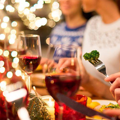 Cena de navidad vegana